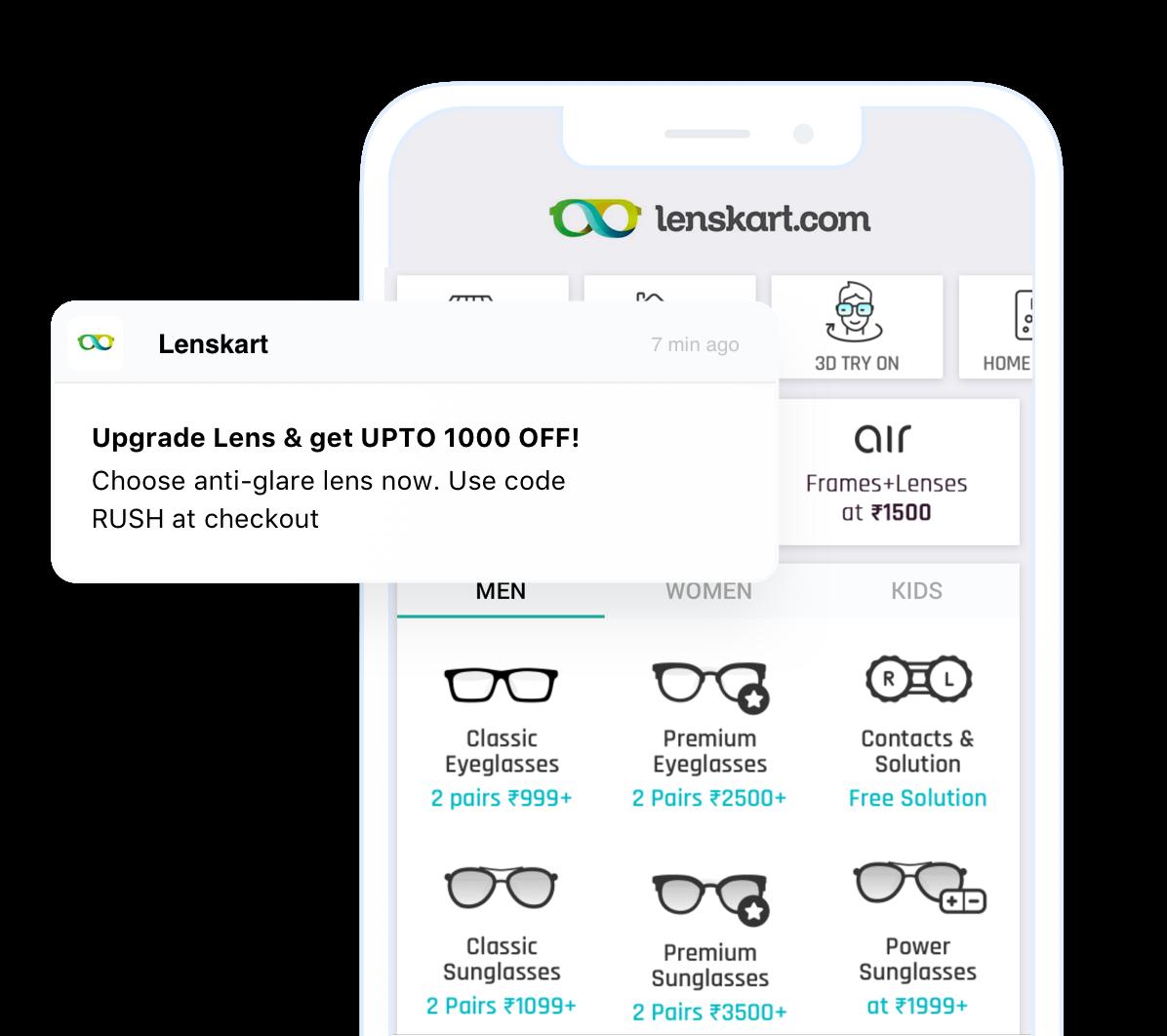 LensKart App